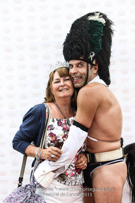 1 - Yes we Cannes - Festival de Cannes 2015 - Crazy Horse Guard - 19052015 (c) Benjamin Dubuis 2015