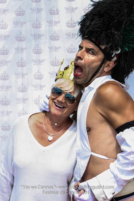 1 - Yes we Cannes - Festival de Cannes 2015 - Crazy Horse Guard - 21052015 (c) Benjamin Dubuis 2015