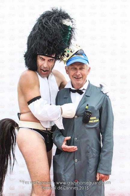 12 - Yes we Cannes - Festival de Cannes 2015 - Crazy Horse Guard - 19052015 (c) Benjamin Dubuis 2015