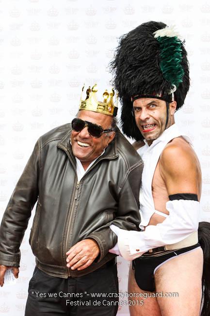 13 - Yes we Cannes - Festival de Cannes 2015 - Crazy Horse Guard - 21052015 (c) Benjamin Dubuis 2015