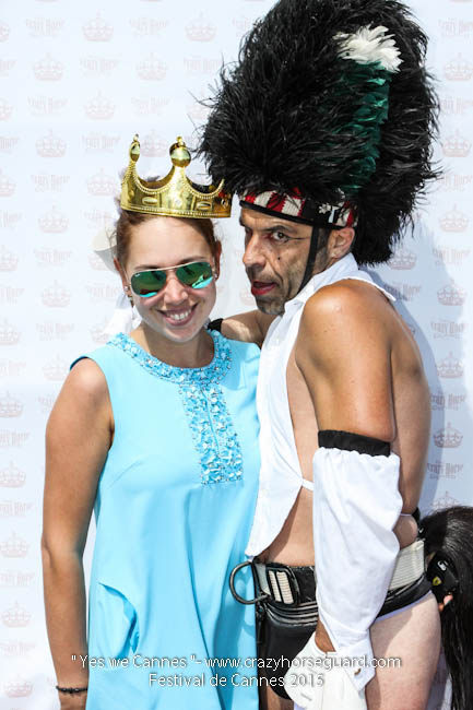 13 - Yes we Cannes - Festival de Cannes 2015 - Crazy Horse Guard - 22052015 (c) Benjamin Dubuis 2015