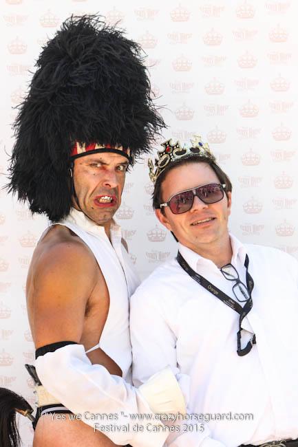 14 - Yes we Cannes - Festival de Cannes 2015 - Crazy Horse Guard - 20052015 (c) Benjamin Dubuis 2015