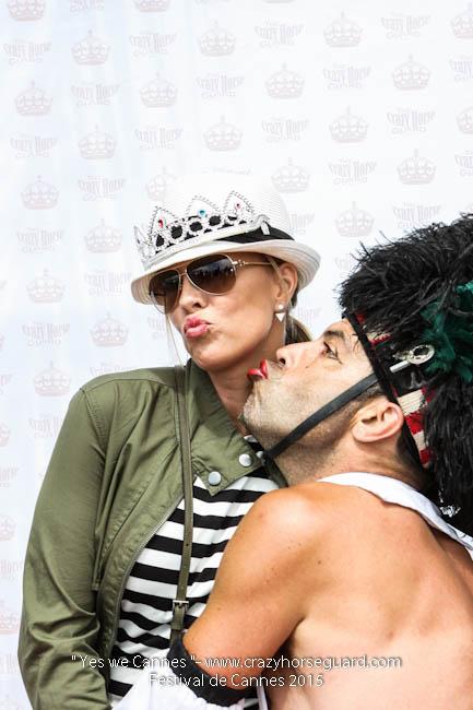 14 - Yes we Cannes - Festival de Cannes 2015 - Crazy Horse Guard - 21052015 (c) Benjamin Dubuis 2015