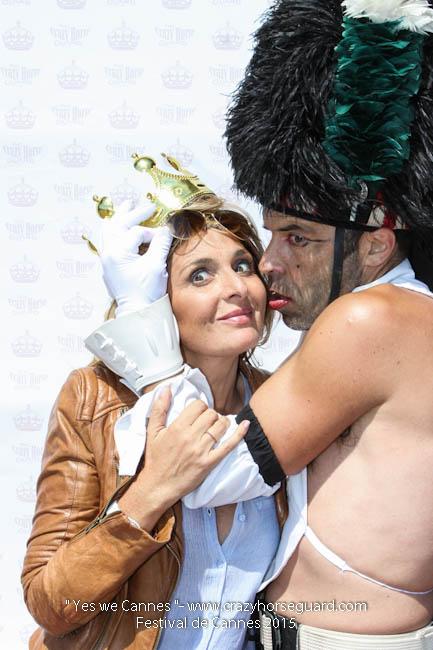 14 - Yes we Cannes - Festival de Cannes 2015 - Crazy Horse Guard - 22052015 (c) Benjamin Dubuis 2015