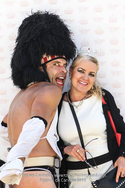 15 - Yes we Cannes - Festival de Cannes 2015 - Crazy Horse Guard - 20052015 (c) Benjamin Dubuis 2015