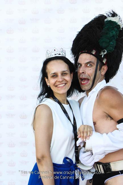 15 - Yes we Cannes - Festival de Cannes 2015 - Crazy Horse Guard - (c) Benjamin Dubuis 2015