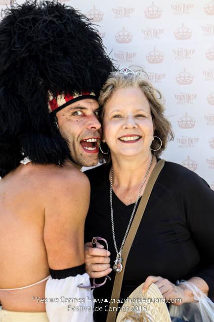 16 - Yes we Cannes - Festival de Cannes 2015 - Crazy Horse Guard - 20052015 (c) Benjamin Dubuis 2015