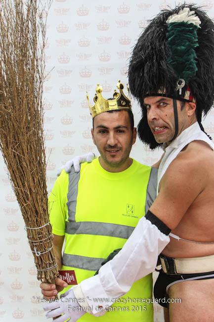 17 - Yes we Cannes - Festival de Cannes 2015 - Crazy Horse Guard - 19052015 (c) Benjamin Dubuis 2015