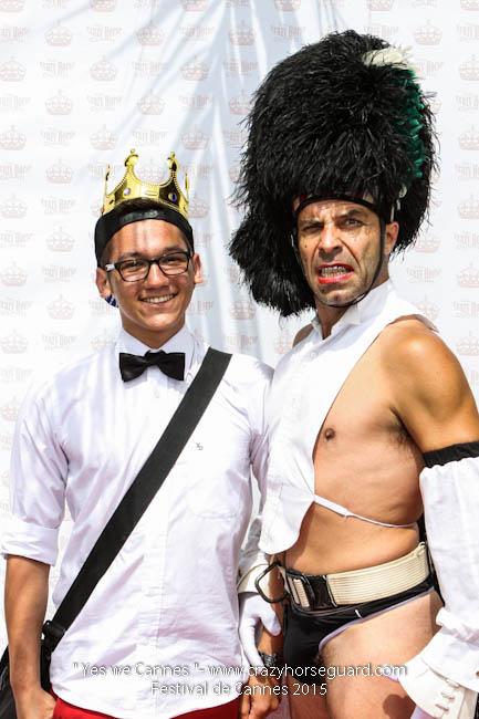 17 - Yes we Cannes - Festival de Cannes 2015 - Crazy Horse Guard - 21052015 (c) Benjamin Dubuis 2015