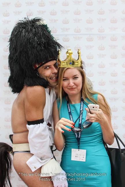 18 - Yes we Cannes - Festival de Cannes 2015 - Crazy Horse Guard - 19052015 (c) Benjamin Dubuis 2015