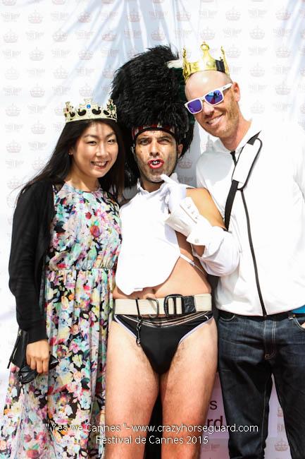 18 - Yes we Cannes - Festival de Cannes 2015 - Crazy Horse Guard - 21052015 (c) Benjamin Dubuis 2015