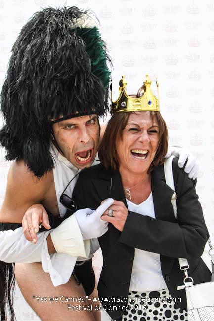 22 - Yes we Cannes - Festival de Cannes 2015 - Crazy Horse Guard - 19052015 (c) Benjamin Dubuis 2015