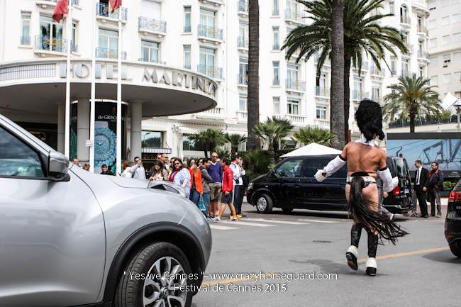 22 - Yes we Cannes - Festival de Cannes 2015 - Crazy Horse Guard - 21052015 (c) Benjamin Dubuis 2015