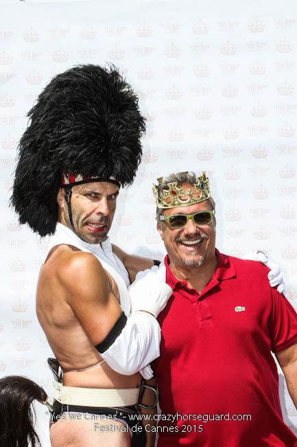 22 - Yes we Cannes - Festival de Cannes 2015 - Crazy Horse Guard - 22052015 (c) Benjamin Dubuis 2015