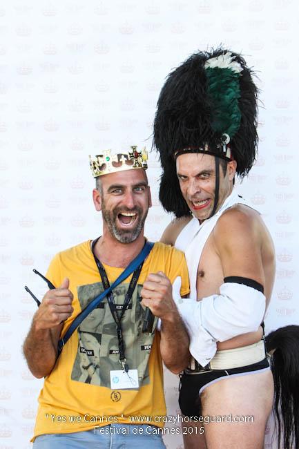 22 - Yes we Cannes - Festival de Cannes 2015 - Crazy Horse Guard - (c) Benjamin Dubuis 2015