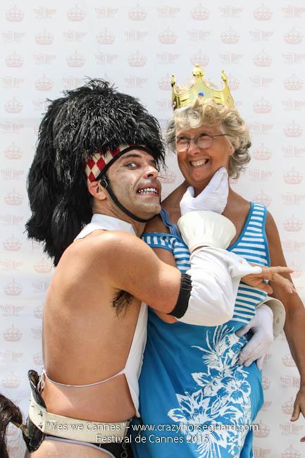 23 - Yes we Cannes - Festival de Cannes 2015 - Crazy Horse Guard - 19052015 (c) Benjamin Dubuis 2015