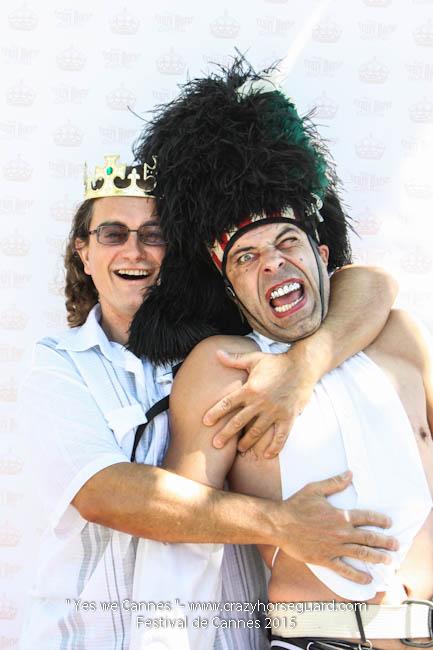 23 - Yes we Cannes - Festival de Cannes 2015 - Crazy Horse Guard - 20052015 (c) Benjamin Dubuis 2015