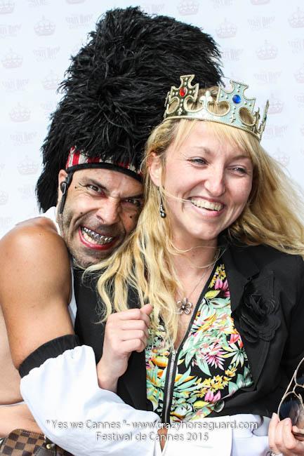 23 - Yes we Cannes - Festival de Cannes 2015 - Crazy Horse Guard - 22052015 (c) Benjamin Dubuis 2015