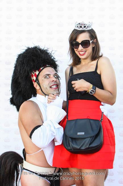 23 - Yes we Cannes - Festival de Cannes 2015 - Crazy Horse Guard - (c) Benjamin Dubuis 2015