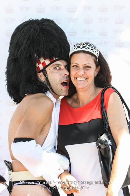 24 - Yes we Cannes - Festival de Cannes 2015 - Crazy Horse Guard - 20052015 (c) Benjamin Dubuis 2015