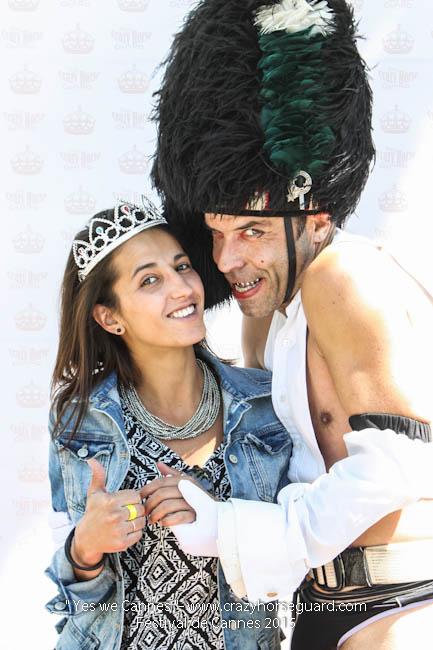 25 - Yes we Cannes - Festival de Cannes 2015 - Crazy Horse Guard - 20052015 (c) Benjamin Dubuis 2015