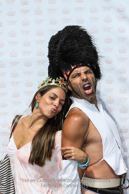 25 - Yes we Cannes - Festival de Cannes 2015 - Crazy Horse Guard - 22052015 (c) Benjamin Dubuis 2015