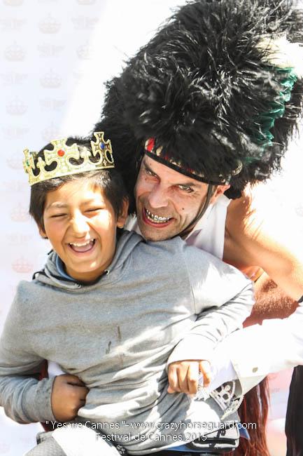 26 - Yes we Cannes - Festival de Cannes 2015 - Crazy Horse Guard - 20052015 (c) Benjamin Dubuis 2015