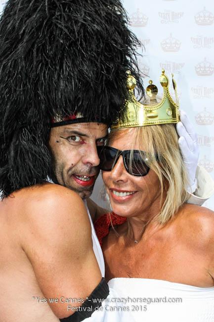 26 - Yes we Cannes - Festival de Cannes 2015 - Crazy Horse Guard - 22052015 (c) Benjamin Dubuis 2015