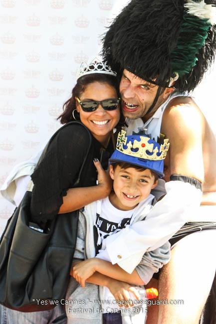 27 - Yes we Cannes - Festival de Cannes 2015 - Crazy Horse Guard - 20052015 (c) Benjamin Dubuis 2015