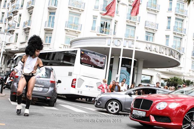 27 - Yes we Cannes - Festival de Cannes 2015 - Crazy Horse Guard - 21052015 (c) Benjamin Dubuis 2015