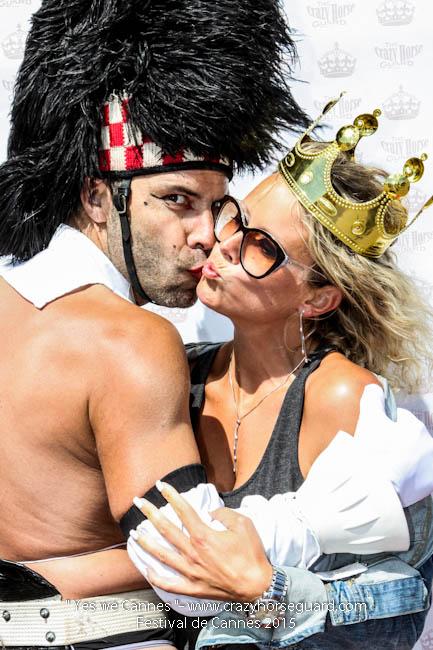 27 - Yes we Cannes - Festival de Cannes 2015 - Crazy Horse Guard - 22052015 (c) Benjamin Dubuis 2015
