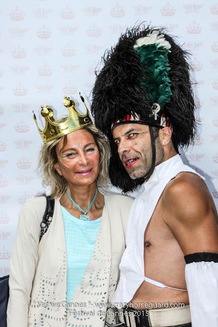 28 - Yes we Cannes - Festival de Cannes 2015 - Crazy Horse Guard - 22052015 (c) Benjamin Dubuis 2015