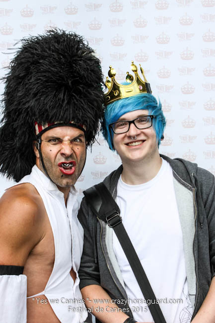 29 - Yes we Cannes - Festival de Cannes 2015 - Crazy Horse Guard - 21052015 (c) Benjamin Dubuis 2015