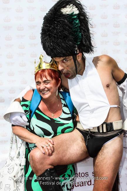 29 - Yes we Cannes - Festival de Cannes 2015 - Crazy Horse Guard - 22052015 (c) Benjamin Dubuis 2015