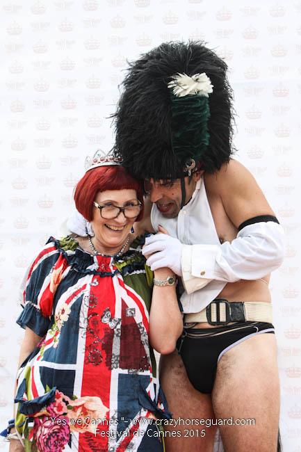 3 - Yes we Cannes - Festival de Cannes 2015 - Crazy Horse Guard - 19052015 (c) Benjamin Dubuis 2015
