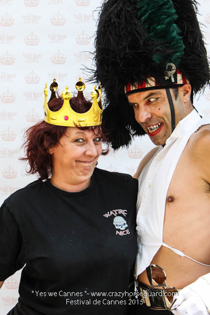 30 - Yes we Cannes - Festival de Cannes 2015 - Crazy Horse Guard - 19052015 (c) Benjamin Dubuis 2015