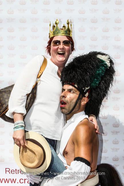 30 - Yes we Cannes - Festival de Cannes 2015 - Crazy Horse Guard - 22052015 (c) Benjamin Dubuis 2015