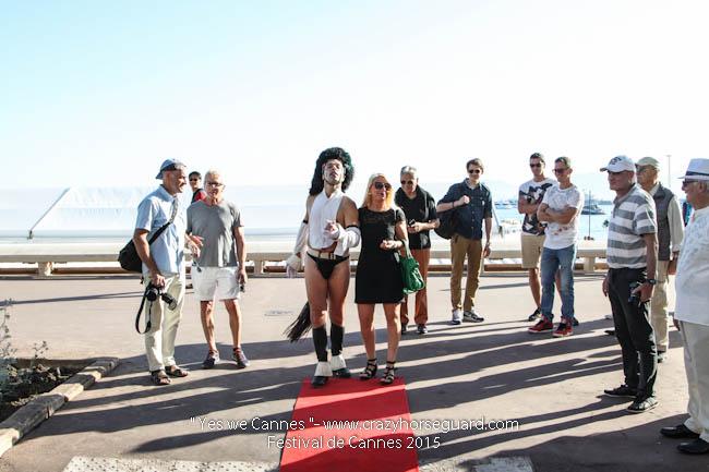 30 - Yes we Cannes - Festival de Cannes 2015 - Crazy Horse Guard - (c) Benjamin Dubuis 2015