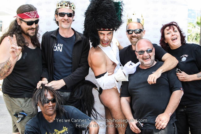 31 - Yes we Cannes - Festival de Cannes 2015 - Crazy Horse Guard - 19052015 (c) Benjamin Dubuis 2015