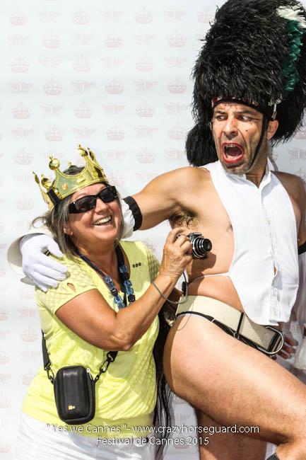 33 - Yes we Cannes - Festival de Cannes 2015 - Crazy Horse Guard - 22052015 (c) Benjamin Dubuis 2015