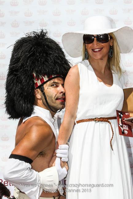 34 - Yes we Cannes - Festival de Cannes 2015 - Crazy Horse Guard - 22052015 (c) Benjamin Dubuis 2015