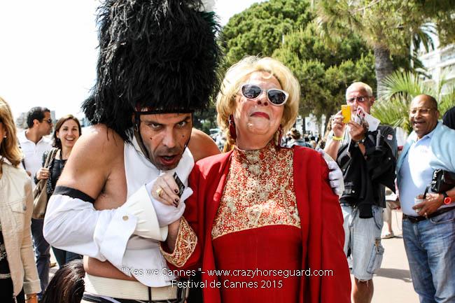 35 - Yes we Cannes - Festival de Cannes 2015 - Crazy Horse Guard - 21052015 (c) Benjamin Dubuis 2015