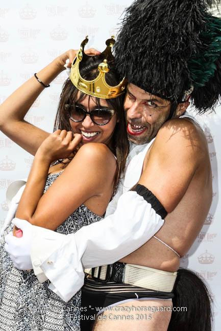 35 - Yes we Cannes - Festival de Cannes 2015 - Crazy Horse Guard - 22052015 (c) Benjamin Dubuis 2015