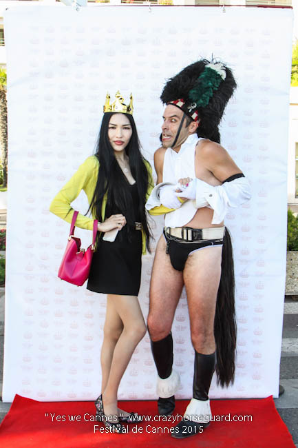 35 - Yes we Cannes - Festival de Cannes 2015 - Crazy Horse Guard - (c) Benjamin Dubuis 2015