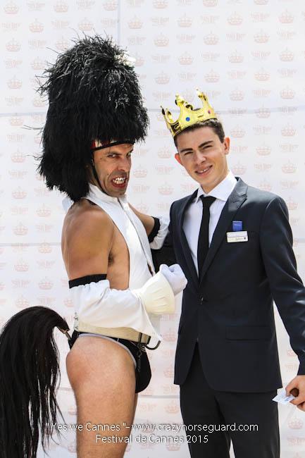 36 - Yes we Cannes - Festival de Cannes 2015 - Crazy Horse Guard - 19052015 (c) Benjamin Dubuis 2015