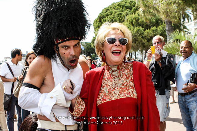36 - Yes we Cannes - Festival de Cannes 2015 - Crazy Horse Guard - 21052015 (c) Benjamin Dubuis 2015
