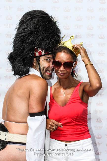 36 - Yes we Cannes - Festival de Cannes 2015 - Crazy Horse Guard - 22052015 (c) Benjamin Dubuis 2015