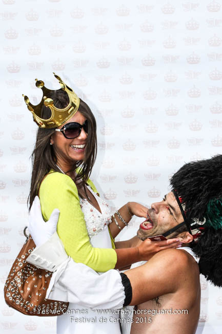 37 - Yes we Cannes - Festival de Cannes 2015 - Crazy Horse Guard - 22052015 (c) Benjamin Dubuis 2015