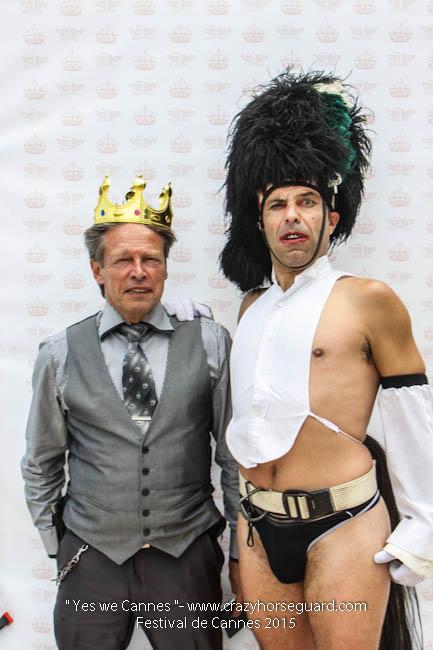 38 - Yes we Cannes - Festival de Cannes 2015 - Crazy Horse Guard - 19052015 (c) Benjamin Dubuis 2015