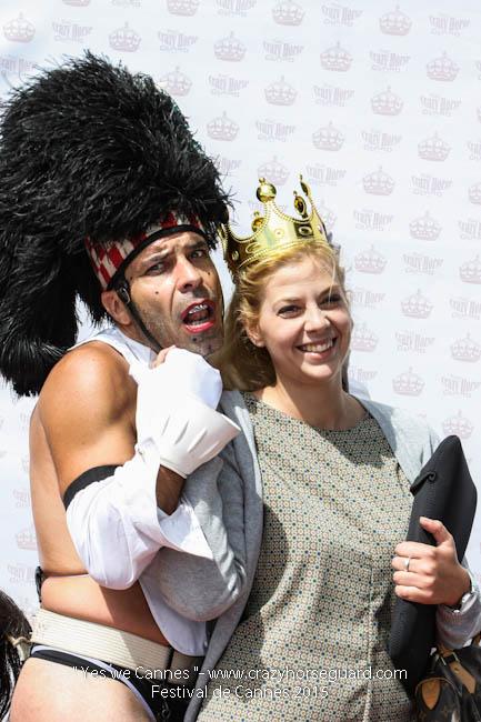 38 - Yes we Cannes - Festival de Cannes 2015 - Crazy Horse Guard - 21052015 (c) Benjamin Dubuis 2015